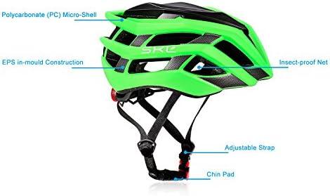 Casco de bicicleta, SKL Ultraligero Casco De Bicicleta Unisex Con ...