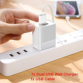 """For Visual Land Prestige Elite 8Qi 8/"""" Micro USB Charging Data Sync Charger Cable"""