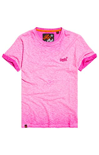 Superdry Bas T Herren T Roseéclatant Zh9 Roulettes shirt À shirt YfbI76vgy