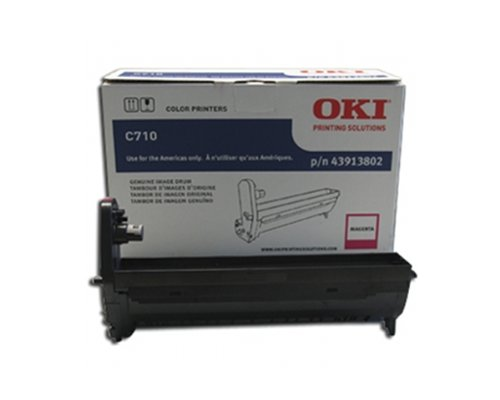 OKI43913802 - Oki Magenta Image Drum For C710 Series Printers ()