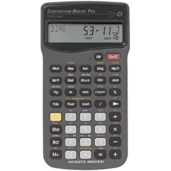 Amazon calculated industries 5070 electricalc pro electrical calculated industries 4060 construction master pro greentooth Choice Image