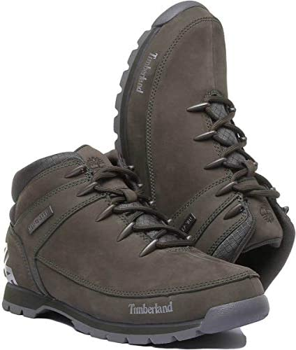 Coincidencia cien Funeral  Amazon.com | Timberland Mens Euro Sprint Hiker Walking Winter Leather Ankle  Boots - Grape Leaf - 8 | Hiking Boots
