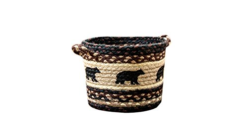 Earth Rugs 38-UBPSM313BB Basket, Small/9