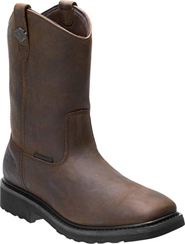 Harley-Davidson Men's Altman 10-In WP and CT Motorcycle Boots D93564 (Brn, 11)