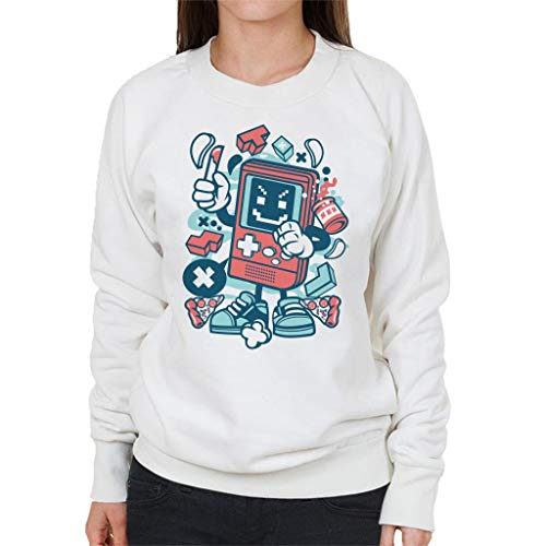 Cartoon White Character Women's Bad Sweatshirt Gamer Tx4vqwA5nZ