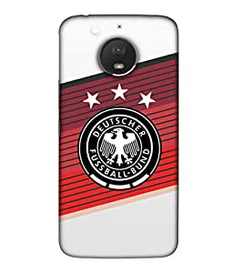 ColorKing Football Russia 21 Multicolor shell case cover for Motorola Moto E4 Plus