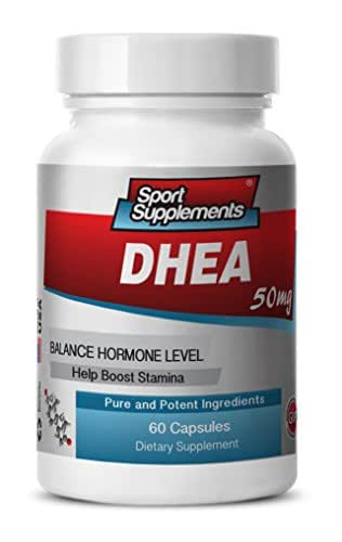 dhea Supplement - DHEA 50mg - Increase Energy and Longevity with Pure DHEA Supplement (1 bottle 60 capsules)