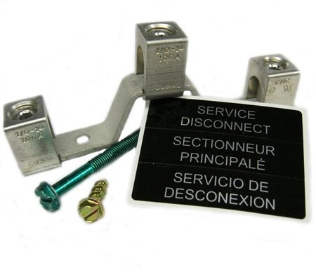 Eaton DG100NB Neutral Kit For Use With General Duty Safety Switch