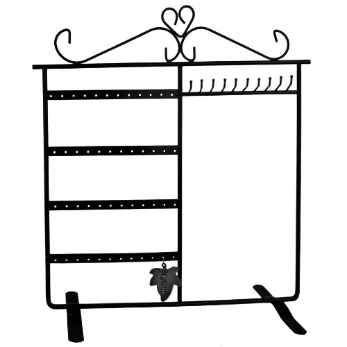 Classic Black Jewelry Holder, Jewelry Stand for Earrings / Necklaces / Brecelets, Gift Idea