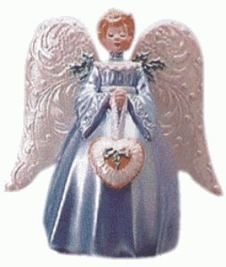 VICTORIAN ANGEL TREE TOPPER 1999 Hallmark Ornament QXM4293