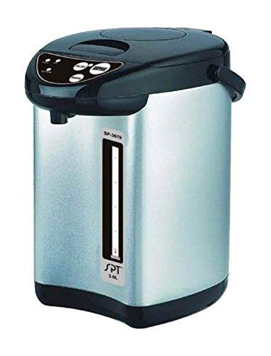 Sunpentown SP-3619 Stainless-Steel 3-3/5-Liter Dual-Pump Hot-Water Dispensing Pot