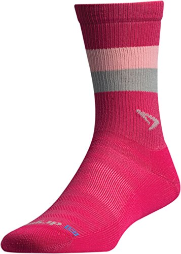 Drymax Running Lite-Mesh Crew, Pink/Lt. Pink/Grey, W7.5-9.5 / M6-8