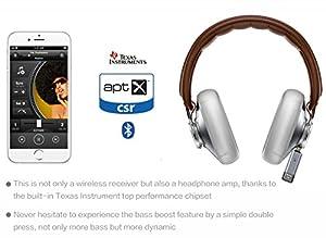 Maceton Aluminum Wireless Bluetooth Receiver with TI