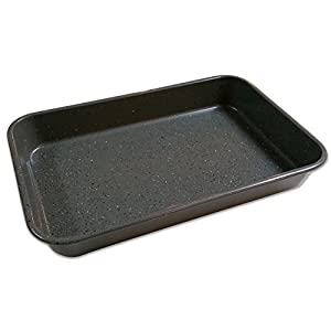 casaWare Toaster Oven Baking Pan 7 x 11-inch Ceramic Coated Non-Stick