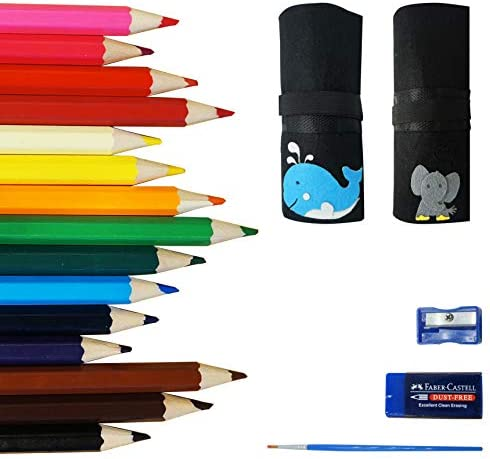 OOKU Chunky Colored Pencils Piece product image