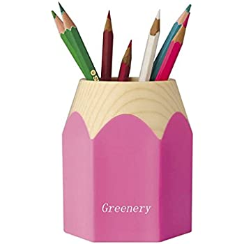 wisedeal creative pencil tip design pen holder pink 1 pink office products. Black Bedroom Furniture Sets. Home Design Ideas