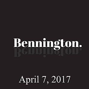 Bennington, April 7, 2017 Radio/TV Program