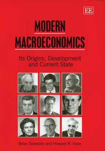 Modern Macroeconomics: Its Origins, Development And Current State