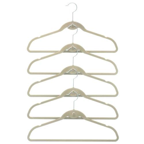 50 Pack ClutterFREE Cascade Hangers - (Velvety Cascade Hanger)