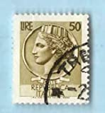 Used Italy Postage Stamp %281955%29 50L