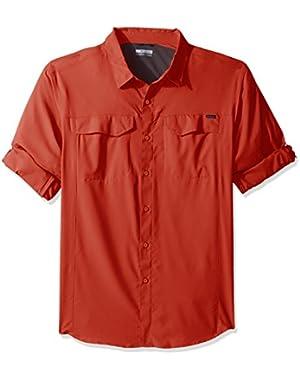 Men's Big-Tall Silver Ridge Lite Long Sleeve Shirt, Tuscan, 1X
