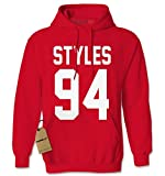 Hoodie Styles 94 Adult Medium Red