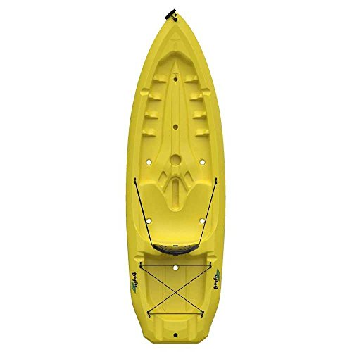 Lifetime Daylite Sit-On-Top Kayak with Paddle, Yellow, 8'