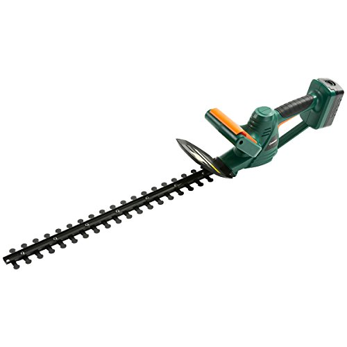 Trimmer Hedge Electric Cordless (DOEWORKS 18V Li-ion Cordless Electric Hedge Trimmer, 20