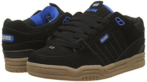 Gomme Hommes Bleu Chaussures De Noir Fusion 20028 Skateboard Pour Globe noir aRwAqFA