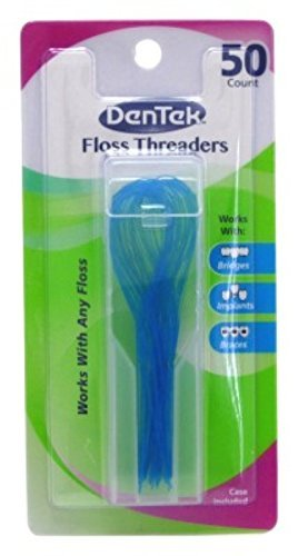 DenTek Floss Threaders | 50-Count per pack | 3-Pack by DenTek