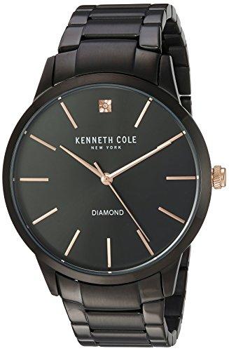 Kenneth Cole New York Men's 'Diamond' Quartz Stainless St...