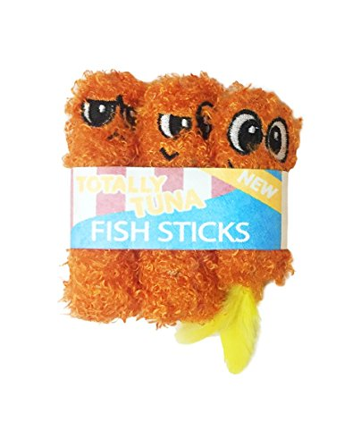 Fish Sticks Catnip Filled Cat Toys by Petstages