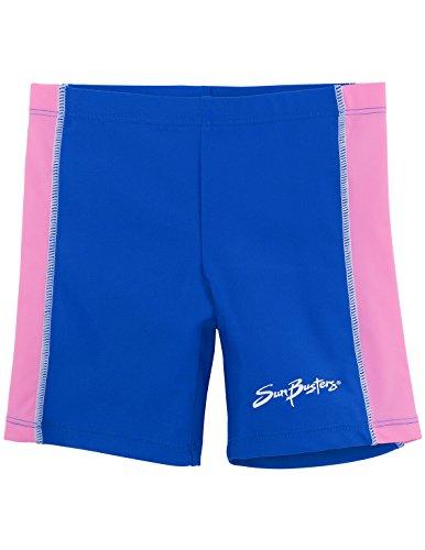 SunBusters Girls Swim Shorts(UPF 50+), Buttercup, 12/18 mos ()