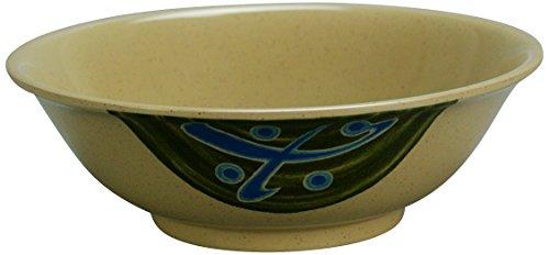 Yanco JP-5060 Japanese Soup Bowl, 18 oz Capacity, 2'' Height, 5.75'' Diameter, Melamine, Pack of 48 by Yanco