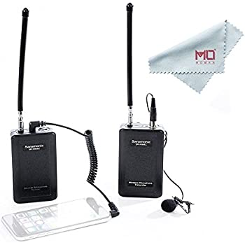 saramonic uwmic9 rx tx tx wireless lavalier microphone system for ios smartphone. Black Bedroom Furniture Sets. Home Design Ideas