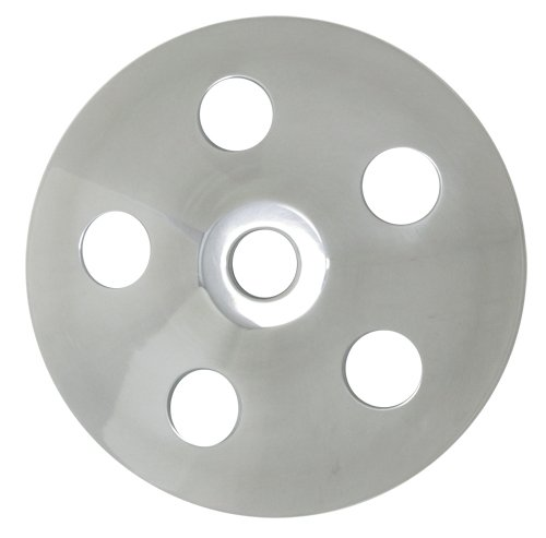 Chevy/ford/gm Aluminum Press Fit Type II Power Steering Pump Pulley - Polished (Aluminum Power Steering Pulley compare prices)