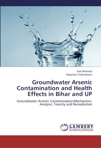 Groundwater Arsenic Contamination and Health Effects in Bihar and UP: Groundwater Arsenic Contamination:Mechanism, Analysis, Toxicity and Remediation (Arsenic Contamination Of Groundwater Mechanism Analysis And Remediation)