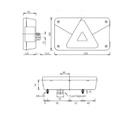 Aspöck Multipoint 5 Leuchte links + rechts SET: Amazon.de: Auto