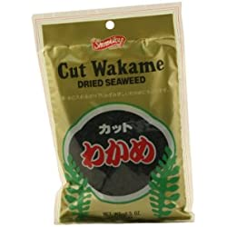 Wakame Cut Dried Seaweed 2.5 Ounce By Shirakiku