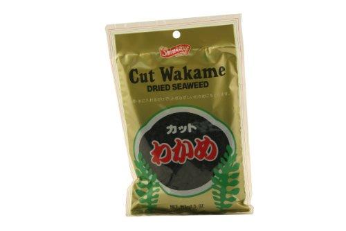 Wakame Cut Dried Seaweed 2.5 Ounce By Nishimoto
