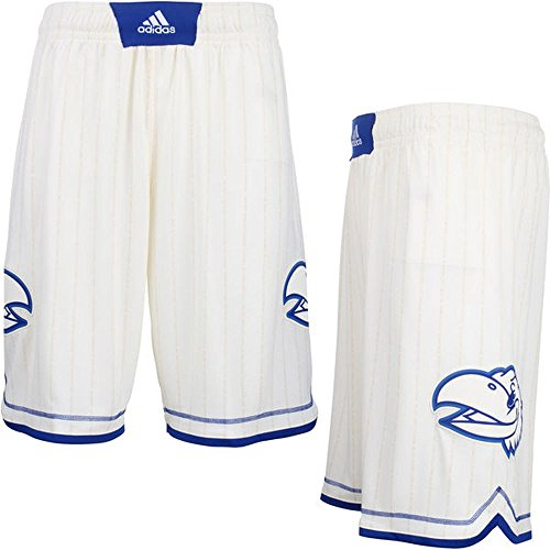 Shorts Adidas Kansas Jayhawks (adidas Kansas Jayhawks Mens Pride Shorts (Cream, Large))