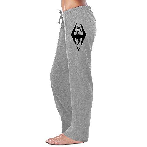 Price comparison product image Game The Elder Scrolls V Skyrim Woman Drawstring Sweatpants Cool Sweat Pants