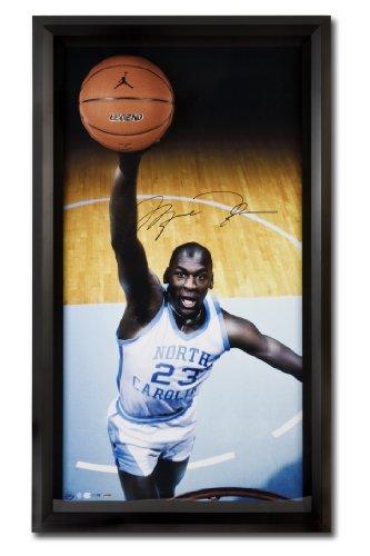 (Michael Jordan Autographed UNC Tar Heels