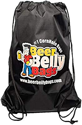 Beer Belly Bags Cornhole Tote Bag Durable Bag for Corn Hole Bags Portable Easy Storage Cornhole Bean Bags for Tossing Game