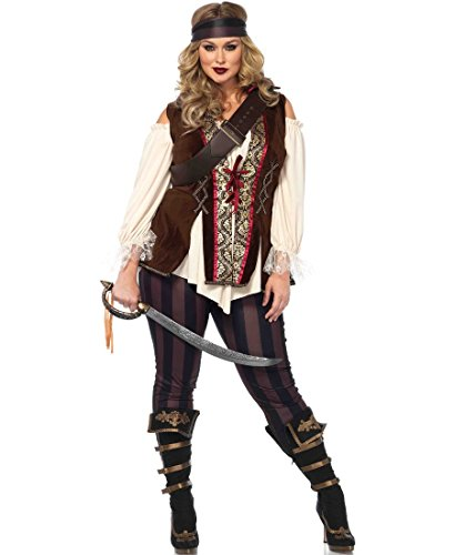 Captain Blackheart Plus Size Adult Costume -