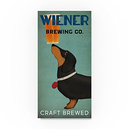 Used, Wiener Brewing Co by Ryan Fowler, 16x32-Inch Canvas for sale  Delivered anywhere in USA