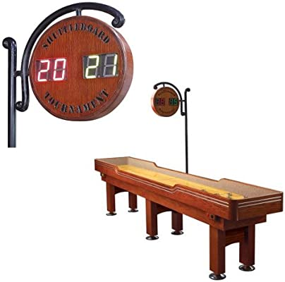 Trademark 10 Foot Electronic Delaware Tournament Shuffleboard Game