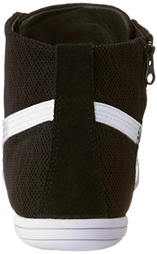 w Black White Cross Textured Eskiva Shoe WN's Trainer Mid Women's Puma US zPwXqX
