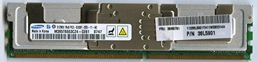 SAMSUNG 512MB PC2-5300 DDR2 FBD ROHS MEMORY MODULE (Samsung 512mb Ddr2 Pc2)