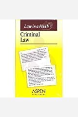 Criminal Law (Law in a Flash) Cards